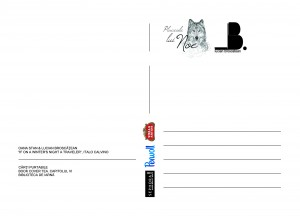 Cartolina Oana Stan&Lucian Broscatean VERSO BCT6